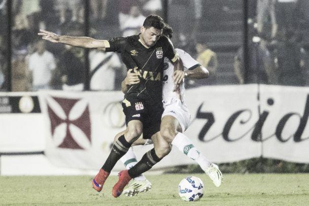 Vasco e Goiás fazem jogo apático e empatam sem gols
