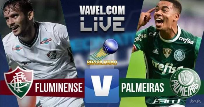 Resultado Fluminense x Palmeiras no Campeonato Brasileiro (0-2)