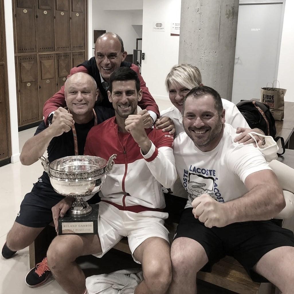 Vajda destacó que vencer a Nadal marcó la diferencia