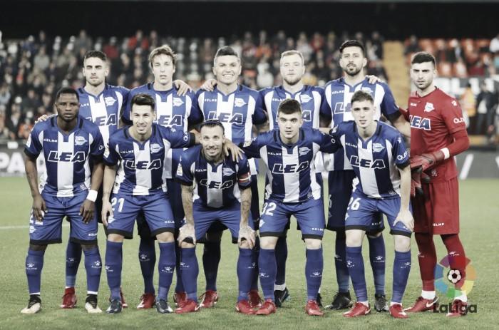 Valencia CF - Deportivo Alavés: puntuaciones del Alavés, ida de los cuartos de final de la Copa del Rey