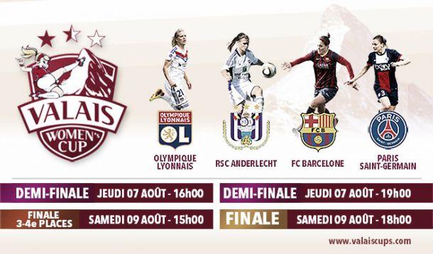 Valais Women's Cup, résumé des demi-finales
