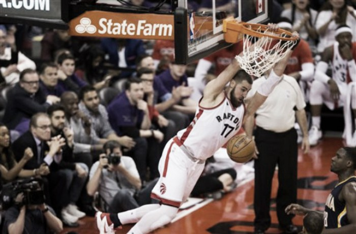 NBA: Toronto domina su Indiana sotto canestro, serie pari (98-87)