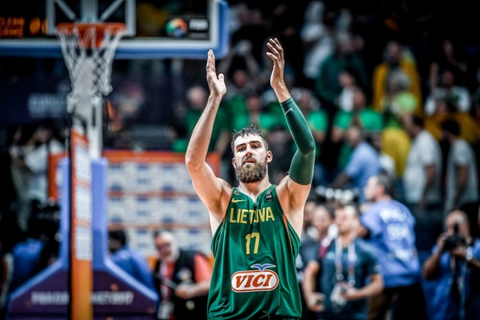 Eurobasket 2017 - Valanciunas da urlo, Lituania batte Germania ed è prima (72-89)