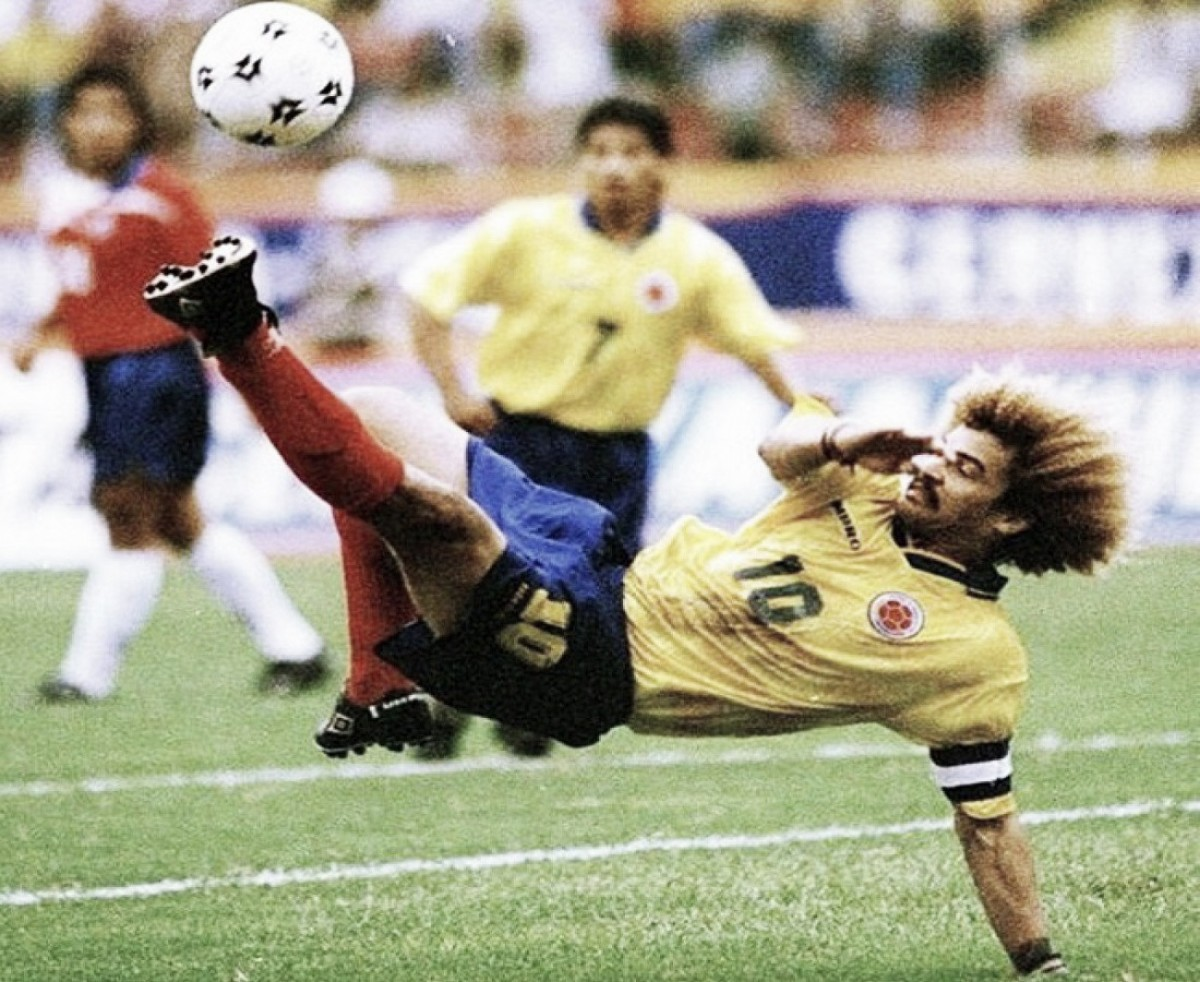 Carlos Alberto Valderrama, el jugador con más presencias con la Selección Colombia