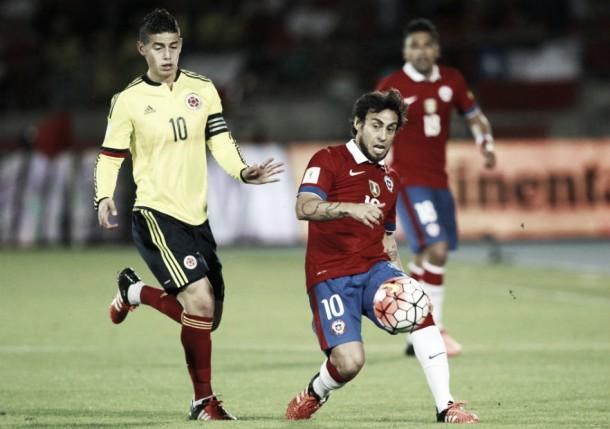 Todo en tablas: Chile y Colombia no logran sacarse diferencias