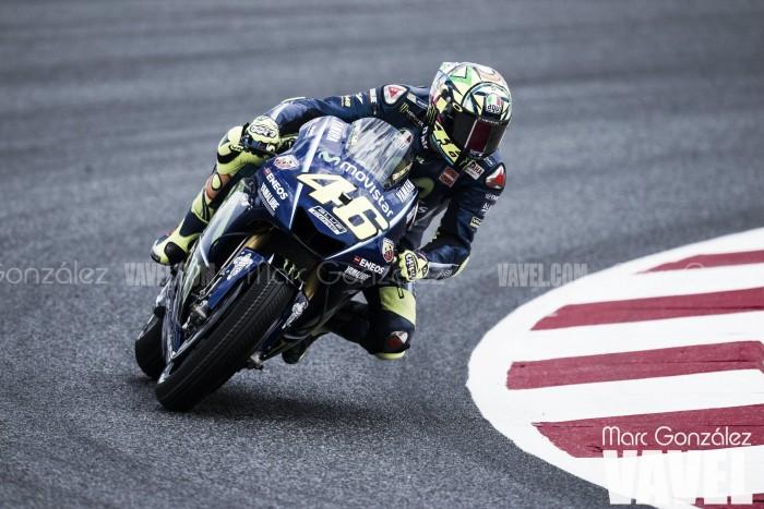 Valentino Rossi en el GP de Valencia: el chasis de la discordia