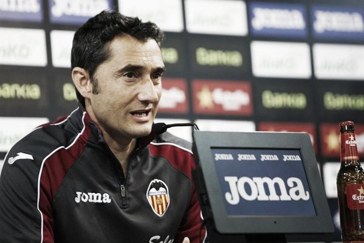 Ernesto Valverde quitte Valence