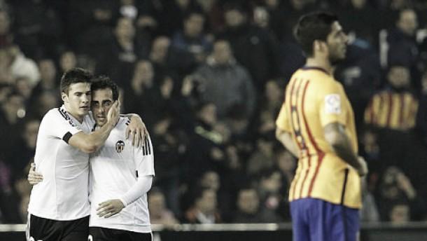 Liga BBVA: Santi Mina força Barcelona a perder 2 pontos em Valência