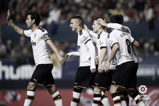 Los tres puntos se quedan en Mestalla