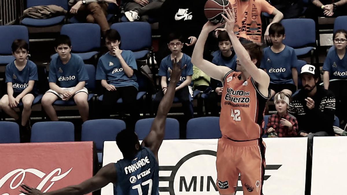 Doornekamp fue el mejor de Valencia con 17 puntos y 5 T3 | Foto: ACB Photo