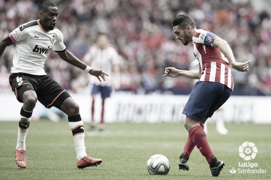 Resumen Del Valencia 2 2 Atletico De Madrid En Laliga Santander 2020 14 02 2020 Vavel Espana