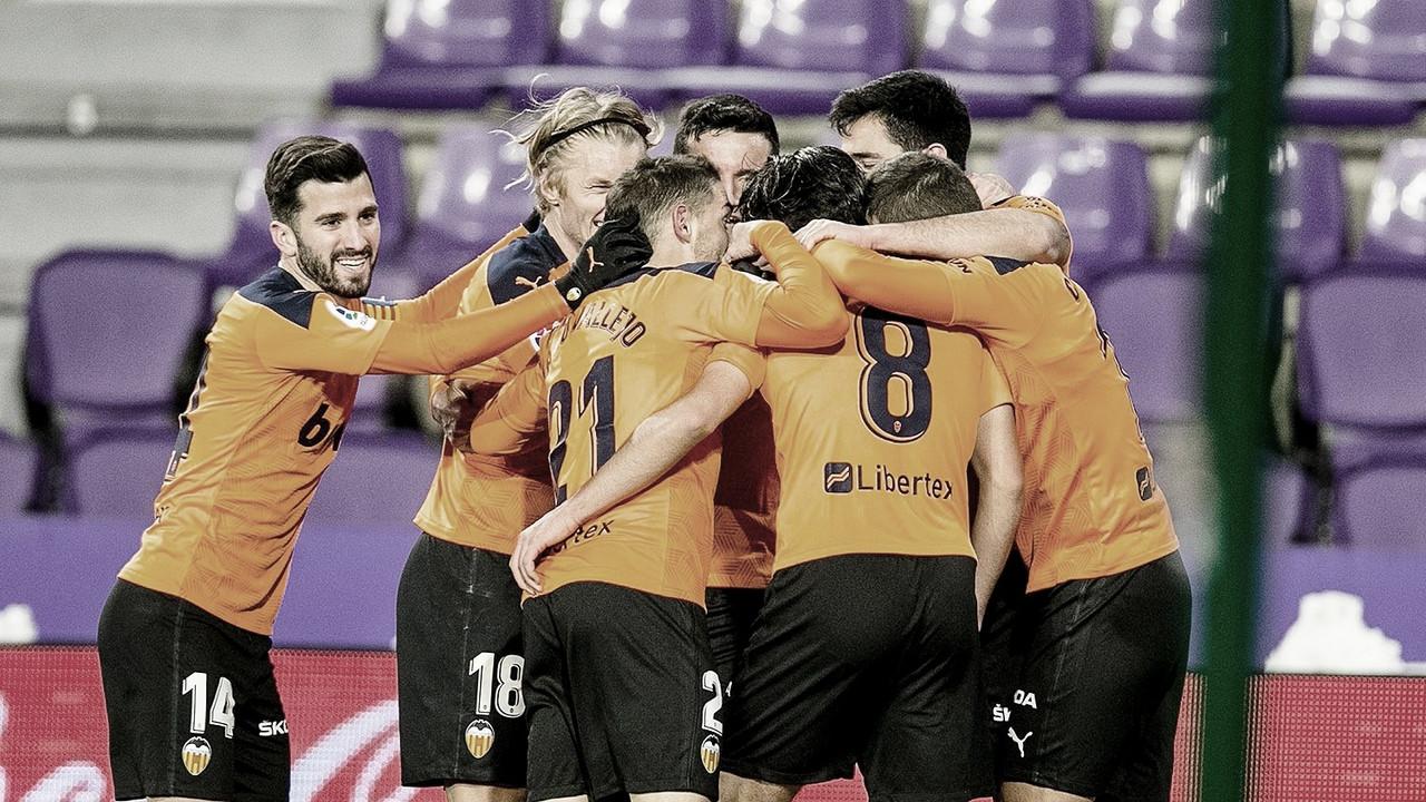 El Valencia se rencuentra con la victoria./ Foto: Valencia CF