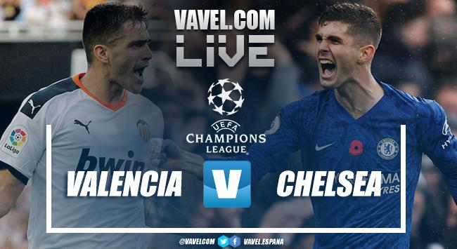 Resumen del Valencia 2-2 Chelsea en Champions League 2019