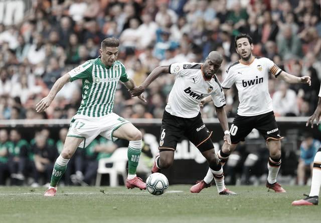 Previa Valencia CF - Real Betis: prueba de fuego para el conjunto de Pellegrini