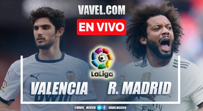 Goles y resumen del Valencia 1-2 Real Madrid en LaLiga 2021