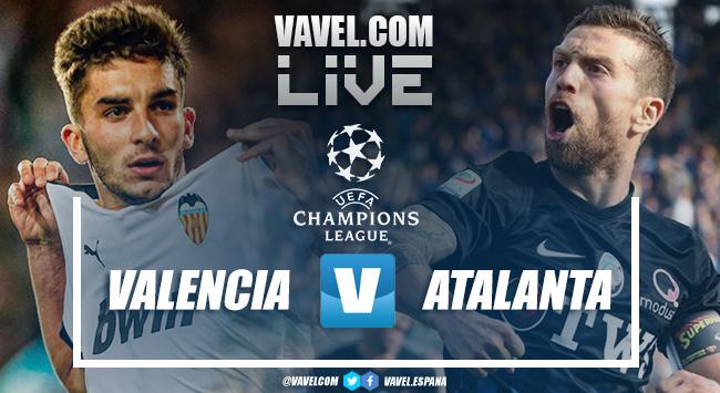 Valencia - Atalanta live, in diretta l'ottavo di finale di Champions League: Atalanta ai quarti (3-4)