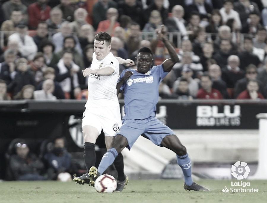 Resumen Getafe CF vs Valencia CF en LaLiga Santander 2020 (3-0)