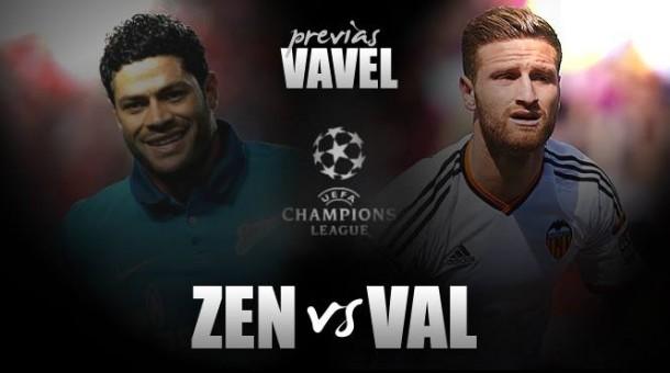 Zenit - Valencia: puntuar en Rusia para no quedarse helado