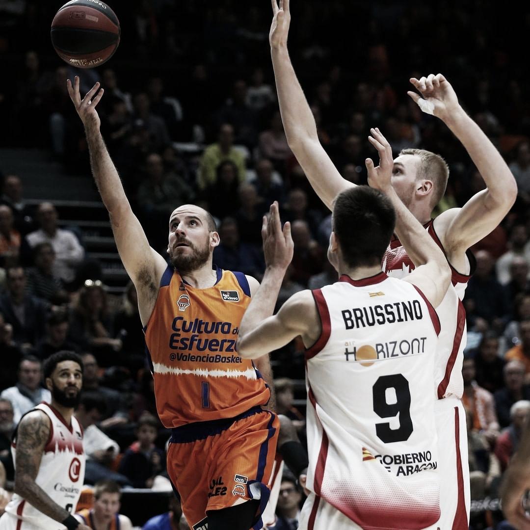 Previa Valencia Basket vs Casademont Zaragoza: la experiencia contra la juventud
