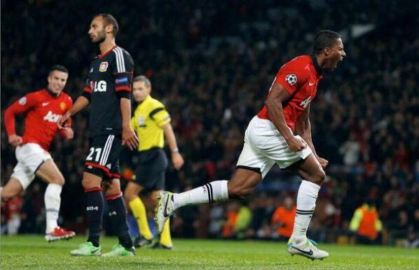 Antonio Valencia figura en la victoria del Manchester United en la Champions League (VIDEO)