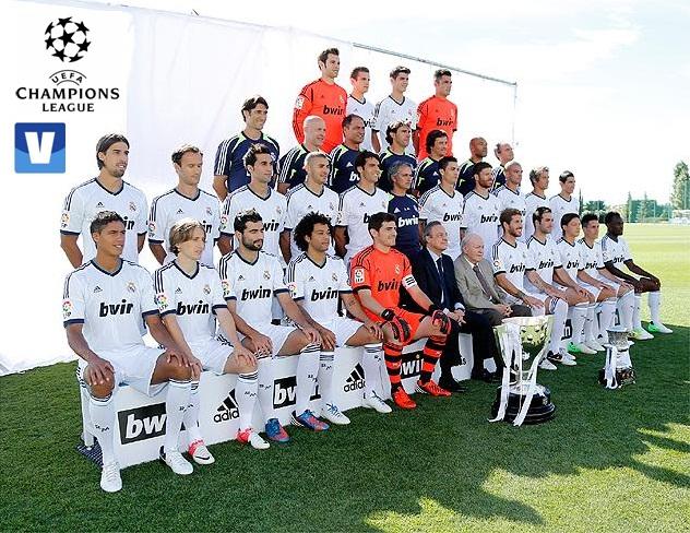 Sorpresas en la lista del Real Madrid para la Champions League