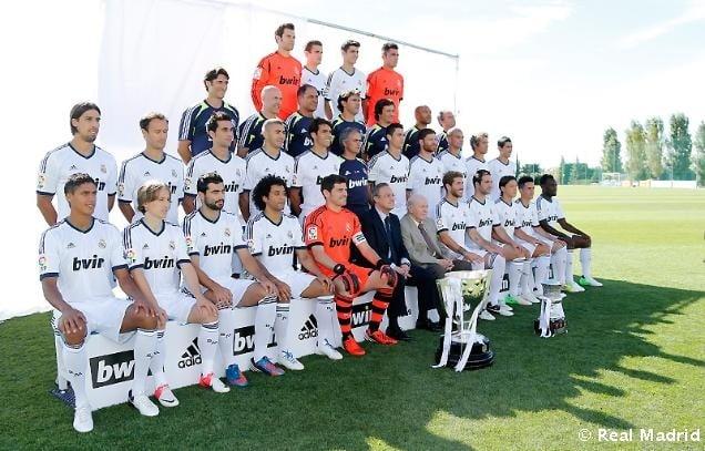 El Real Madrid se tomó la foto oficial 2012/13