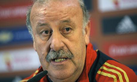 """Del Bosque: """"Ha sido un buen partido y los jugadores se han sentido muy a gusto desde el principio"""""""