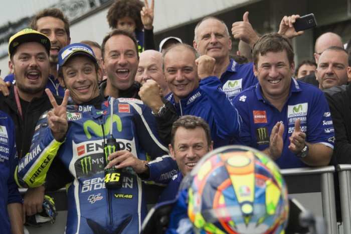 MotoGP Brno: Valentino Rossi,