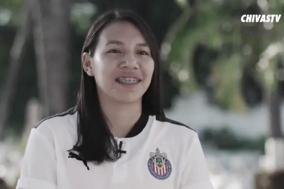 Chivas Femenil presenta a Gabriela Valenzuela, primer refuerzo para el Clausura 2021