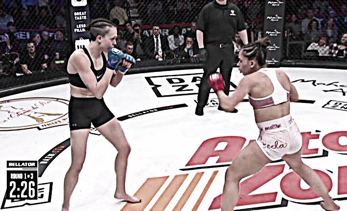 Destacados de Bellator 216: La campeona de Taekwondo logra un TKO en su debut profesional