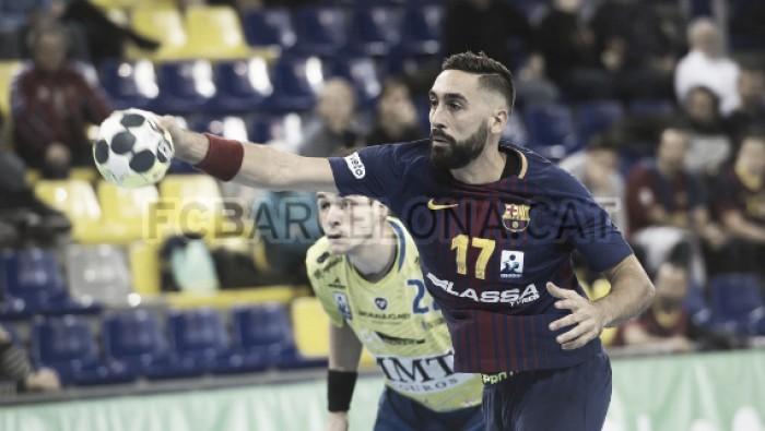 Resumen Quabit Guadalajara 26 - 26 Barcelona Lassa por la jornada 13 de la Liga Loterías Asobal 2017