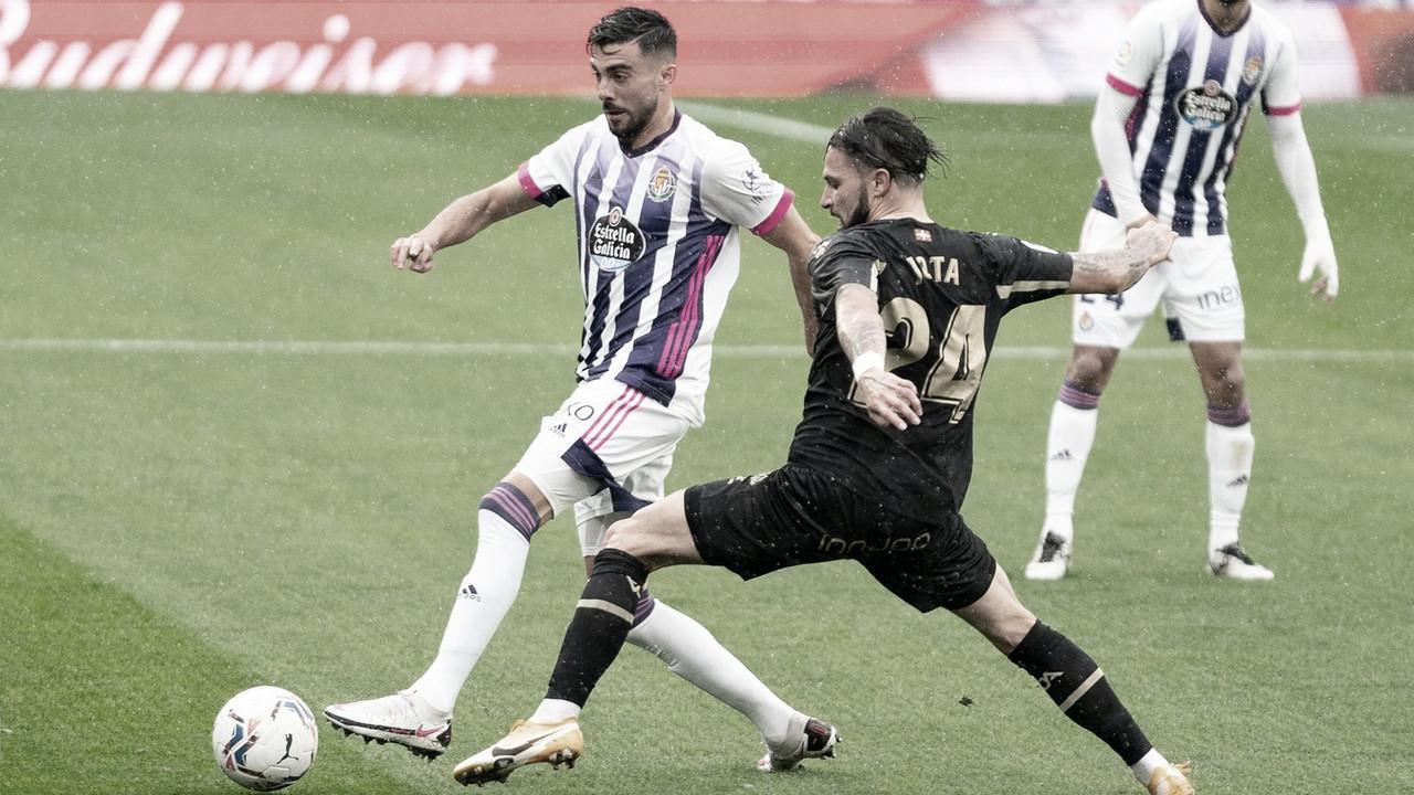 Real Valladolid 0-2 Alavés: de mal en peor