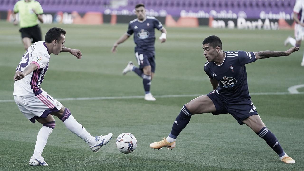 Real Valladolid 1-1 Celta: empate que sabe a poco