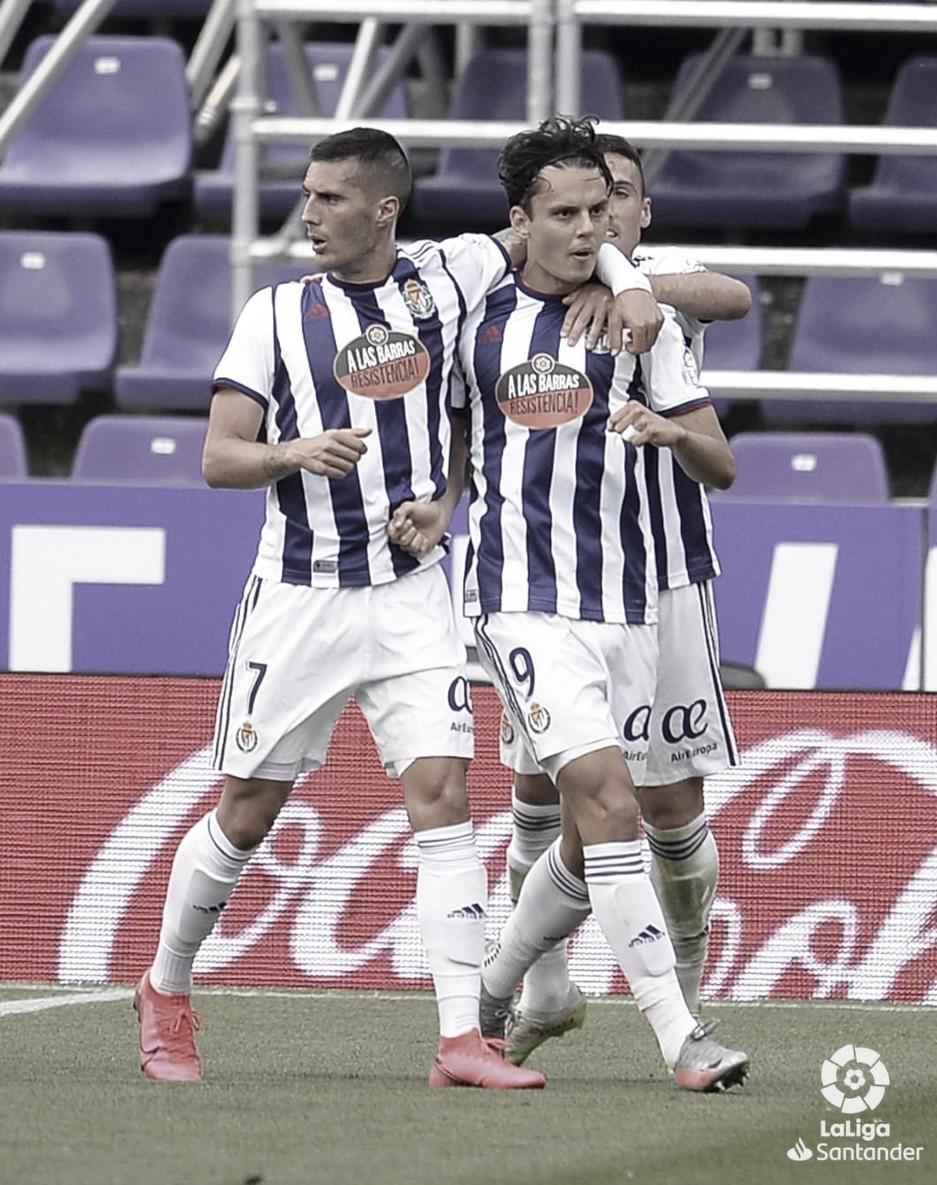 Real Valladolid 1-1 Getafe: el Pucela consigue sumar en un partido complicado