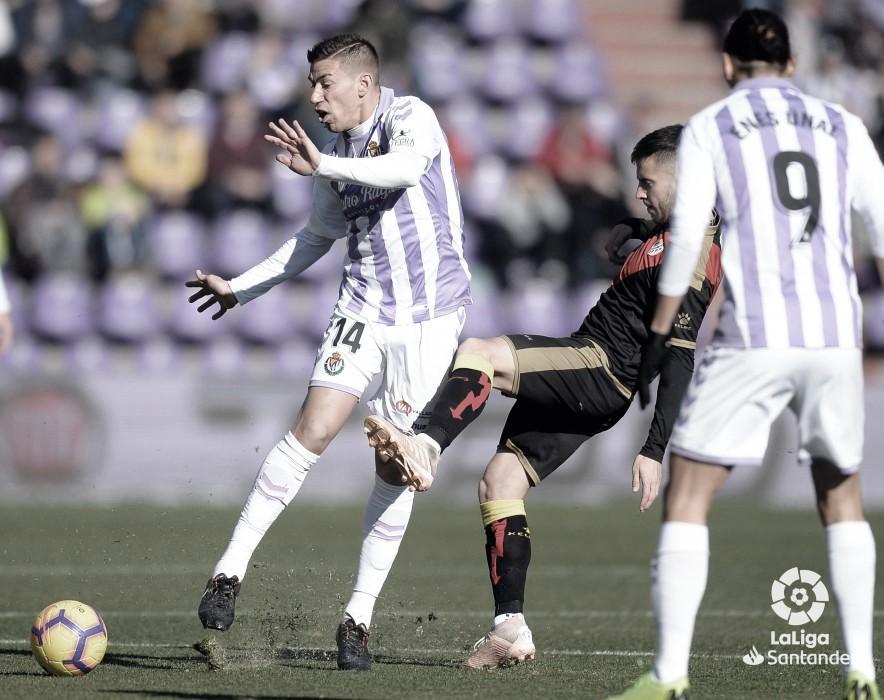 El Valladolid le ha ganado al Rayo el 41% de las veces que se han enfrentado