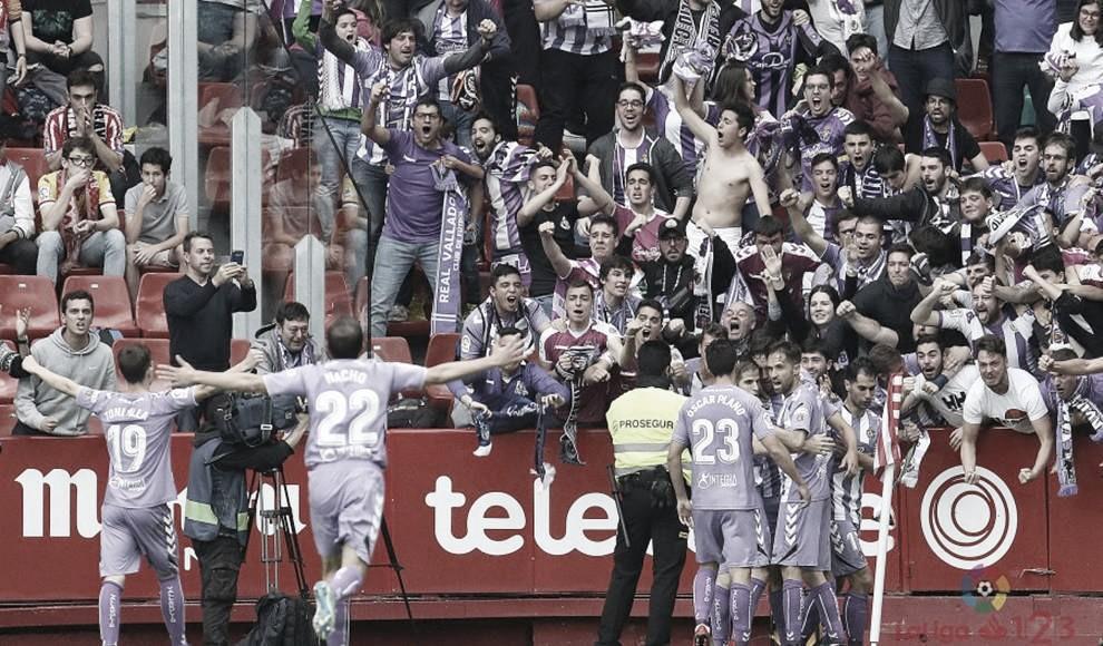 Los aficionados del Real Valladolid no podrán expresarse en zona local