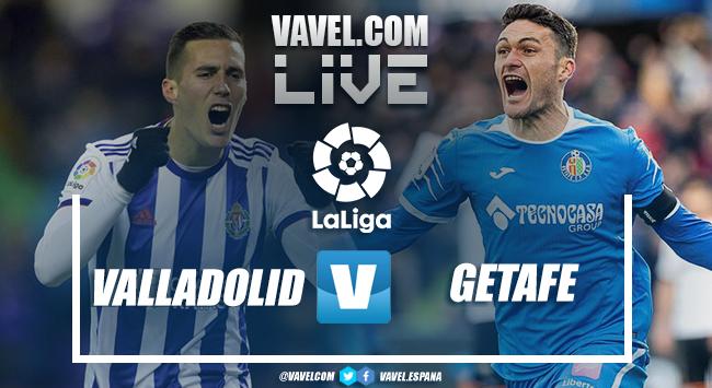 Resumen Valladolid vs Getafe (1-1)
