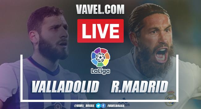 Gol e melhores momentos para Real Valladolid 0x1 Real Madrid por La Liga