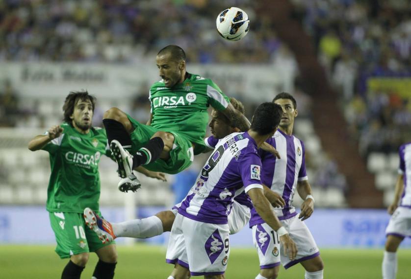 Al Real Valladolid se le escapa el empate en las manos de Jaime