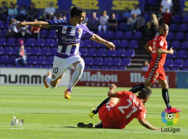 El Nàstic demuestra su gran inicio sumando un punto en Valladolid