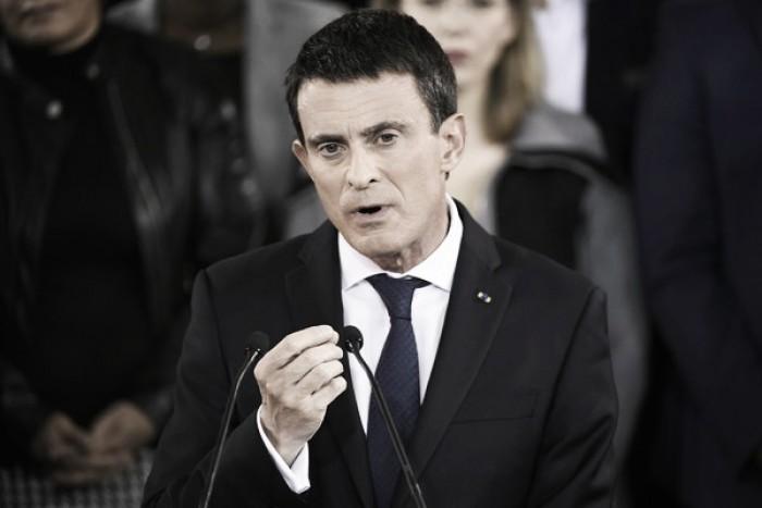 Valls confirma su candidatura a la presidencia
