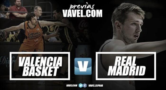 Previa Valencia Basket- Real Madrid: ¿redención respecto a la pasada final?