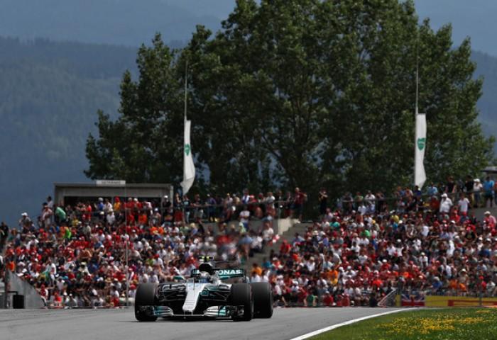 GP Austria - Bottas non perde un colpo e vince, Vettel secondo. Quarto Hamilton