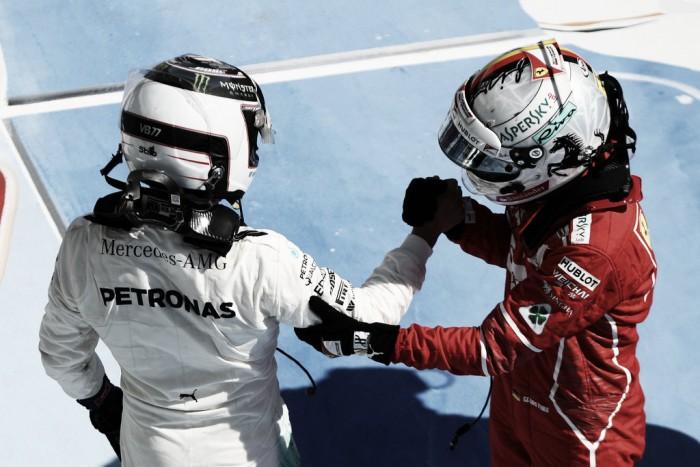 """Valtteri Bottas sobre Hamilton: """"Ha demostrado que es un buen compañero de equipo"""""""