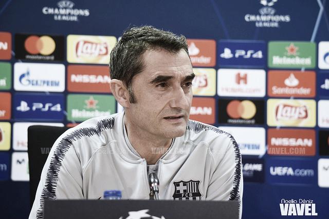 """Ernesto Valverde: """"Los dos queremos jugar y que el rival no juegue"""""""