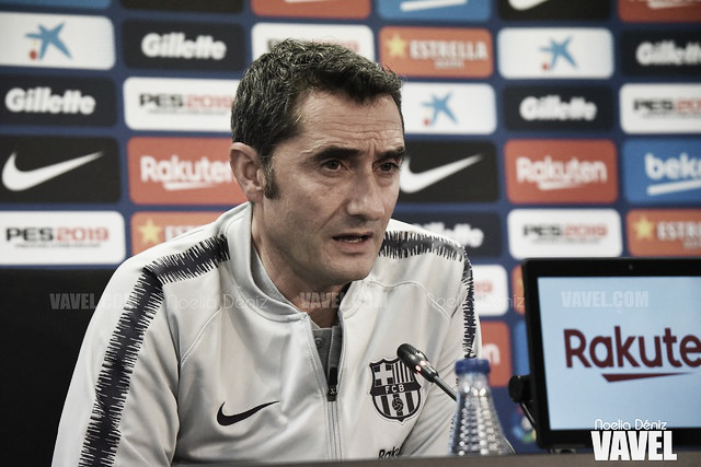 """Ernesto Valverde: """"Han sido muchos cambios, pero estamos contentos"""""""