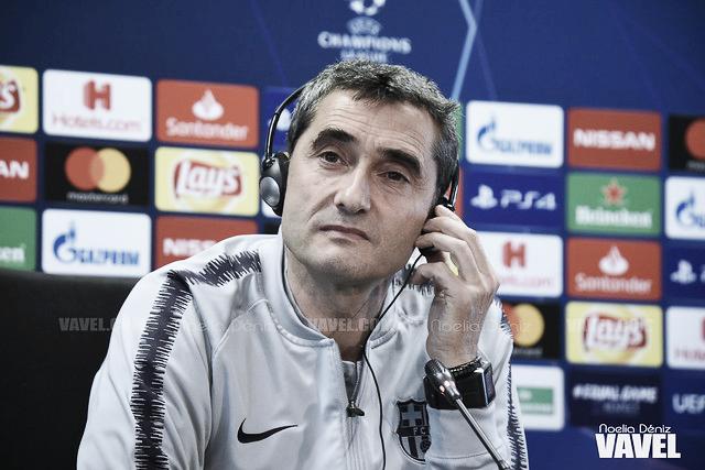 "Ernesto Valverde: ""Hoy ha sido un gran partido"""