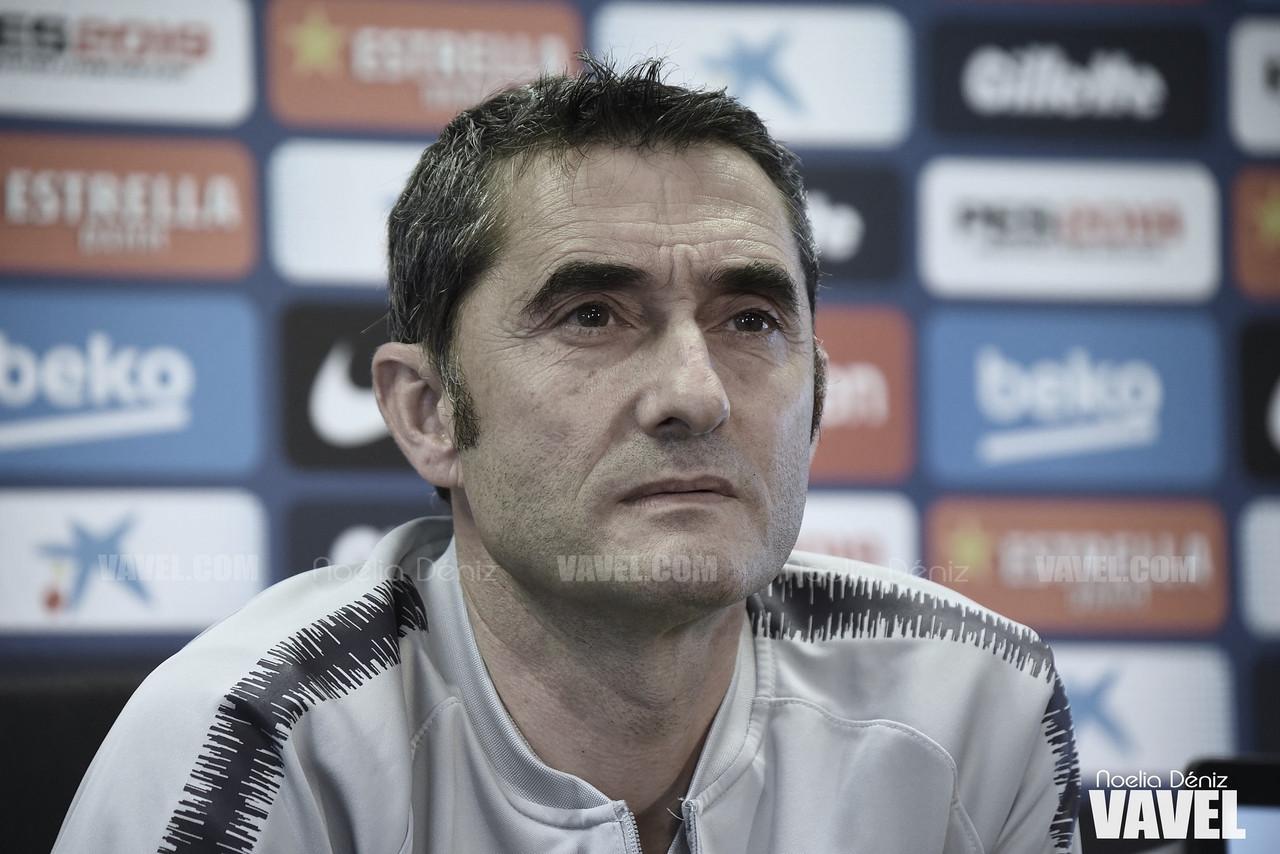 "Ernesto Valverde: ""Queremos cerrar la Liga mañana"""