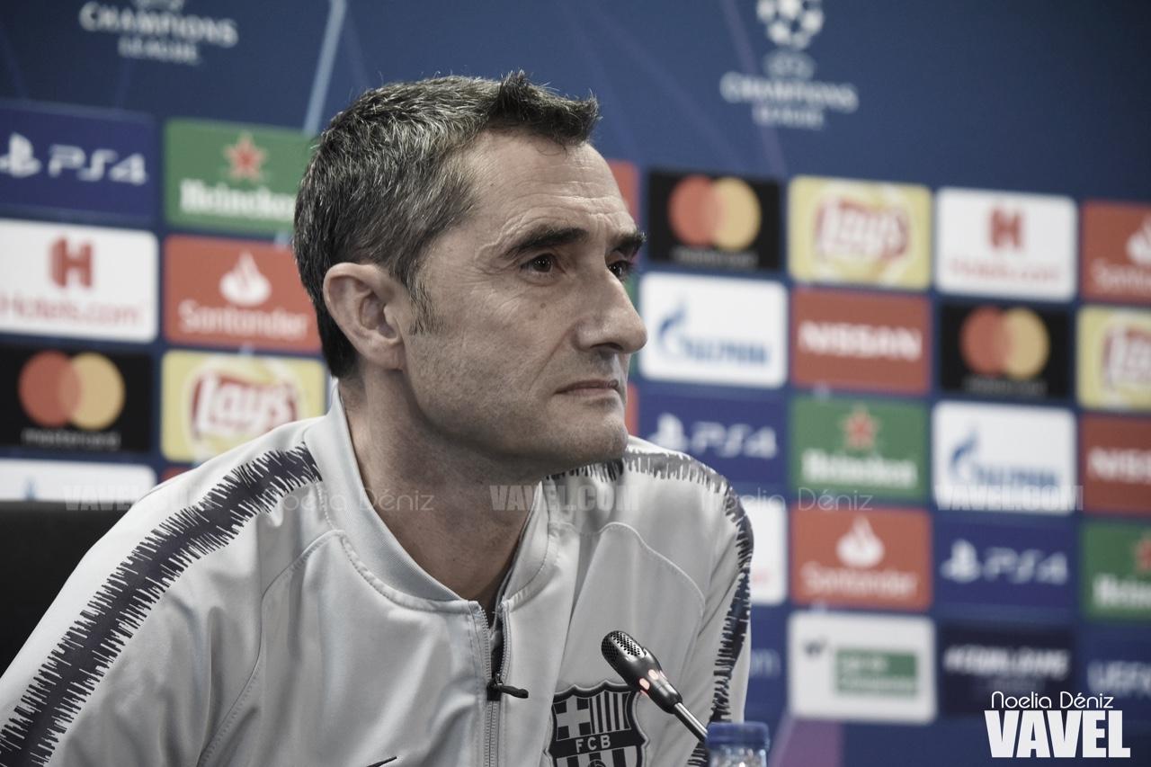 """Ernesto Valverde: """"No bastará con hacer un buen partido"""""""