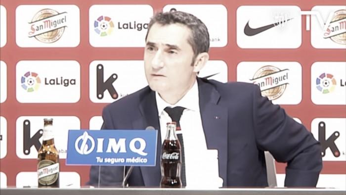 """Valverde: """"Lo contante y sonante es lo que sumas en el día de hoy"""""""